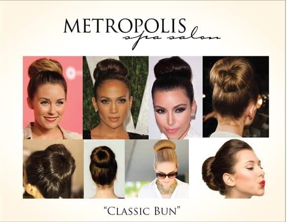 classic bun